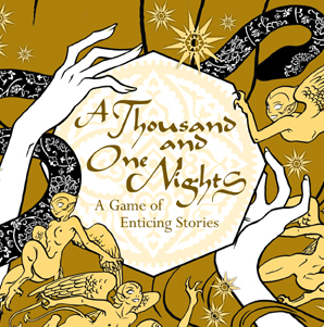 1001 Nights cover- amazing new art
